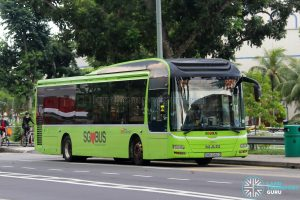 Bus 265: SBS Transit MAN Lion's City A22 (SMB3082D)