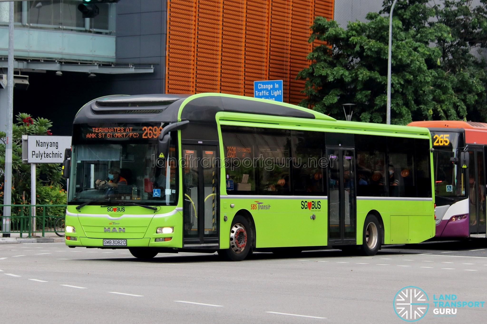 SBS Transit MAN NL323F (A22)