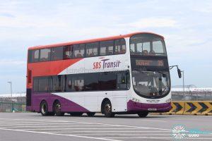 Bus 35: SBS Transit Volvo B9TL Wright (SG5394T)