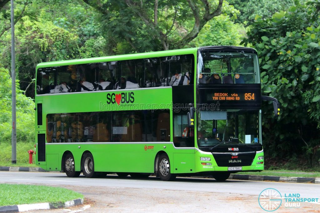 Bus 854: SMRT Buses MAN A95 (SG5758C)