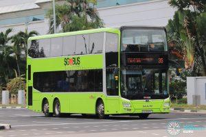 Bus 35: SBS Transit MAN Lion's City DD A95 (SG5839C)