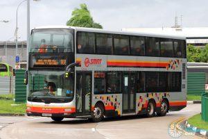 Bus 169: SMRT MAN Lion's City DD A95 (SMB5888H)