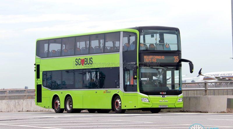 Bus 35: SBS Transit MAN Lion's City DD A95 (SG6059E)