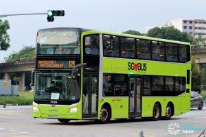 Bus 129: SBS Transit MAN Lion's City DD A95 (SG6076E)