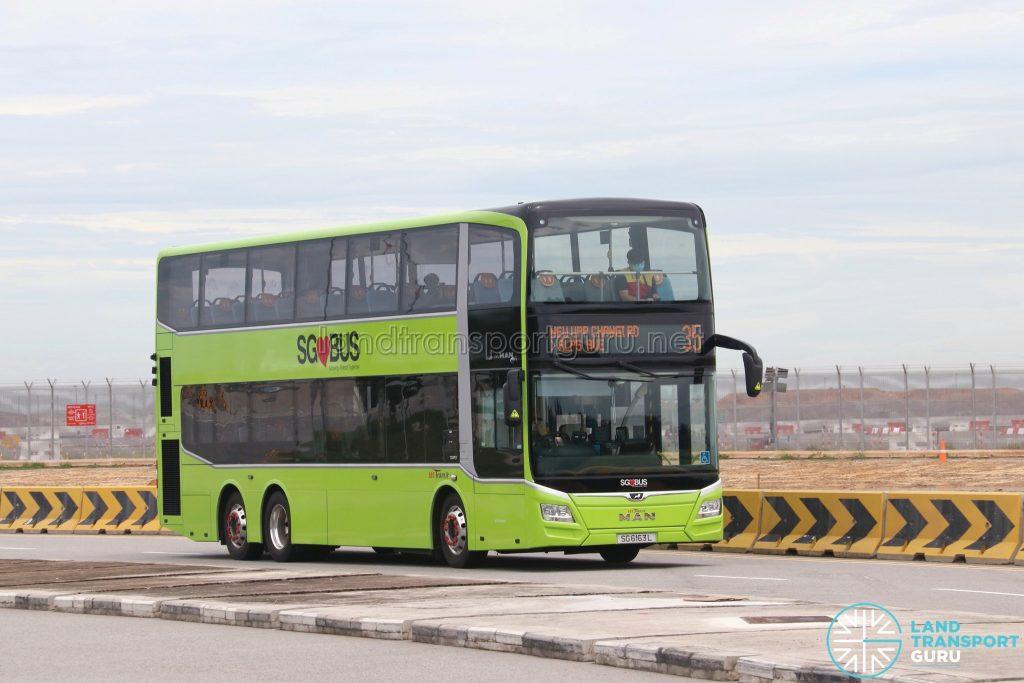 Bus 35: SBS Transit MAN Lion's City DD A95 (SG6163L)