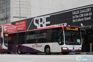 Bus 128: SBS Transit Mercedes-Benz Citaro (SBS6654A)