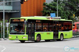 Bus 138B: SBS Transit Mercedes-Benz Citaro (SBS6875D)