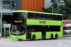 Bus 86: SBS Transit Volvo B9TL CDGE (SBS7447A)