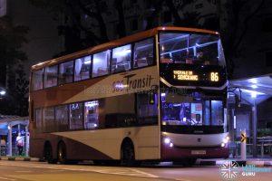 Bus 86: SBS Transit Scania K310UD (SBS7888K)