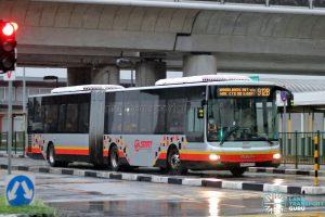 Bus 912B: SMRT MAN A24 (SMB8027G)
