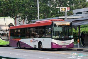 Bus 170A: SBS Transit Scania K230UB (SBS8122E)