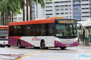 Bus 161: SBS Transit Scania K230UB (SBS8742R)