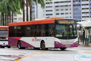 Bus 161: SBS Transit Scania K230UB (SBS8742R)