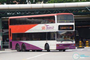 Bus 151: SBS Transit Dennis Trident (SBS9672C)