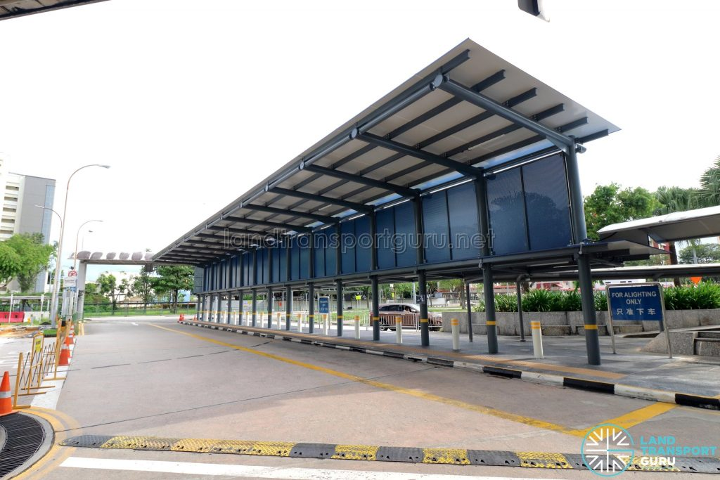 Yio Chu Kang Bus Interchange - Alighting Berth