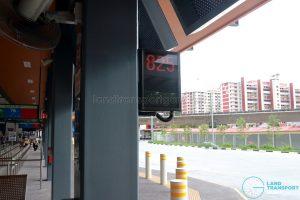 Yio Chu Kang Bus Interchange - Passenger-in-wheelchair driver indicator