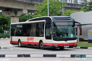 Bus 110: SMRT MAN A22 (SMB1336K)