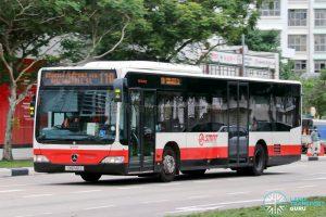 Bus 110 - SMRT Buses Mercedes-Benz Citaro (SMB142J)