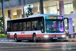 Bus 167e: SMRT Mercedes-Benz Citaro (SMB152E)