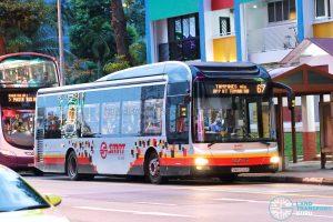 Bus 67 - SMRT Buses MAN A22 (SMB1530R)