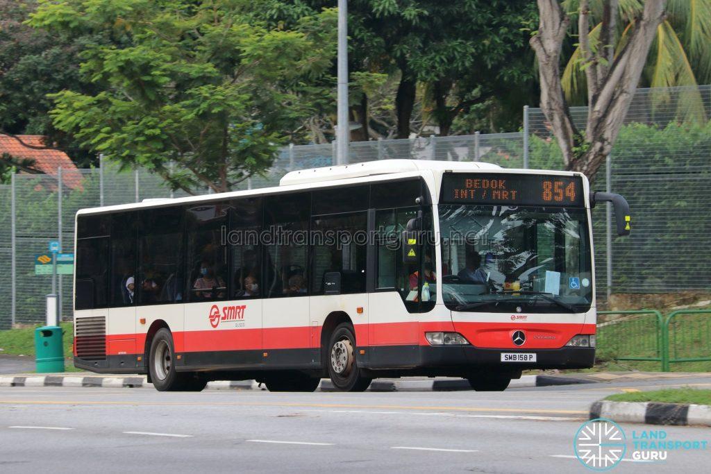 Bus 854: SMRT Buses Mercedes-Benz Citaro (SMB158P)