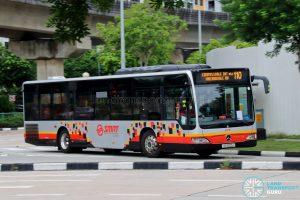 Bus 110: SMRT Mercedes-Benz Citaro (SG1692J)