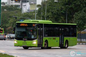 Bus 34: Go-Ahead MAN Lion's City A22 (SG1797R)