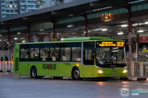 Bus 382A: Go-Ahead MAN Lion's City A22 (SG1844M)