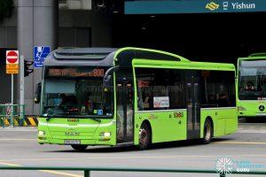 Bus 800: SBS Transit MAN A22 (SMB3076Y)
