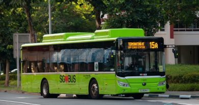 Bus 15A: Go-Ahead Yutong E12 (SG3094Y)