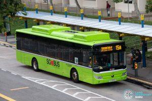 Bus 15: Go-Ahead Yutong E12 (SG3095U)