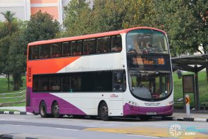 Bus 88: SBS Transit Volvo B9TL Wright (SBS3196A)
