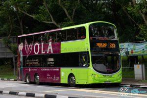 Bus 333: Tower Transit Volvo B9TL Wright (SBS3333X)
