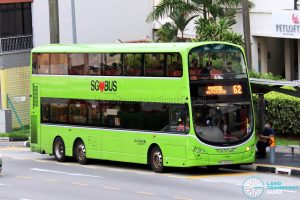 Bus 62: Go-Ahead Volvo B9TL Wright (SBS3452K)
