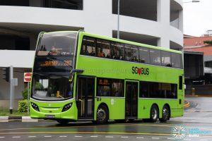 Bus 282: Tower Transit Alexander Dennis Enviro500 (SMB3518P)