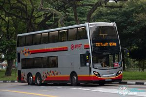 Bus 854e: SMRT ADL Enviro500 (SMB3574B)