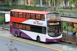 Bus 65: SBS Transit Volvo B9TL Wright (SBS3797R)