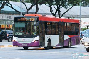 Bus 60A: SBS Transit Scania K230UB (SBS5052T)