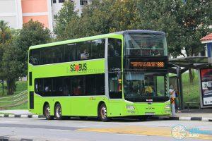 Bus 88B: SBS Transit MAN A95 (SG5848B)