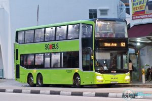 Bus 62: Go-Ahead MAN A95 (SG5915R)
