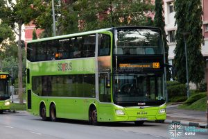 Bus 89A: SBS Transit MAN Lion's City DD A95 (SG5937C)
