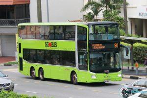 Bus 80: SBS Transit MAN A95 (SG6089T)