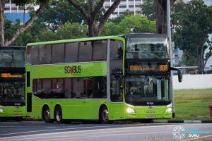 Bus 80A: SBS Transit MAN Lion's City DD A95 (SG6104H)