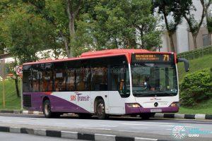 Bus 71: SBS Transit Mercedes-Benz Citaro (SBS6120Z)