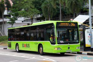 Bus 34B: Go-Ahead Mercedes-Benz Citaro (SBS6445L)