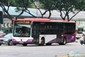 Bus 60A: SBS Transit Mercedes-Benz Citaro (SBS6798T)