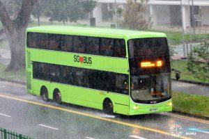 Bus 25: SBS Transit Volvo B9TL CDGE (SBS7458T)