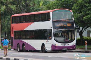 Bus 88A: SBS Transit Volvo B9TL Wright (SBS7606H)