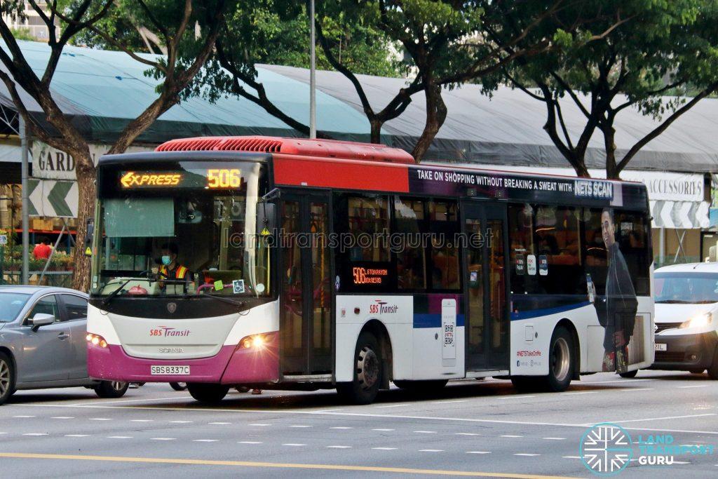Bus 506: SBS Transit Scania K230UB (SBS8337C)