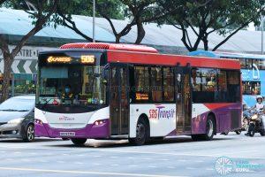 Bus 506: SBS Transit Scania K230UB (SBS8338A)